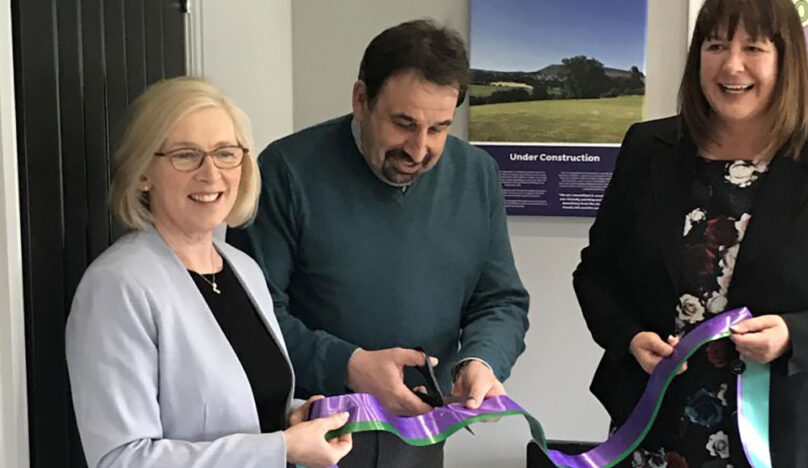 Rovers CEO Cuts the Ribbon for Walmsley Wilkinson