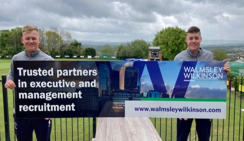 WW sponsor cricketing brothers from Great Harwood Cricket Club