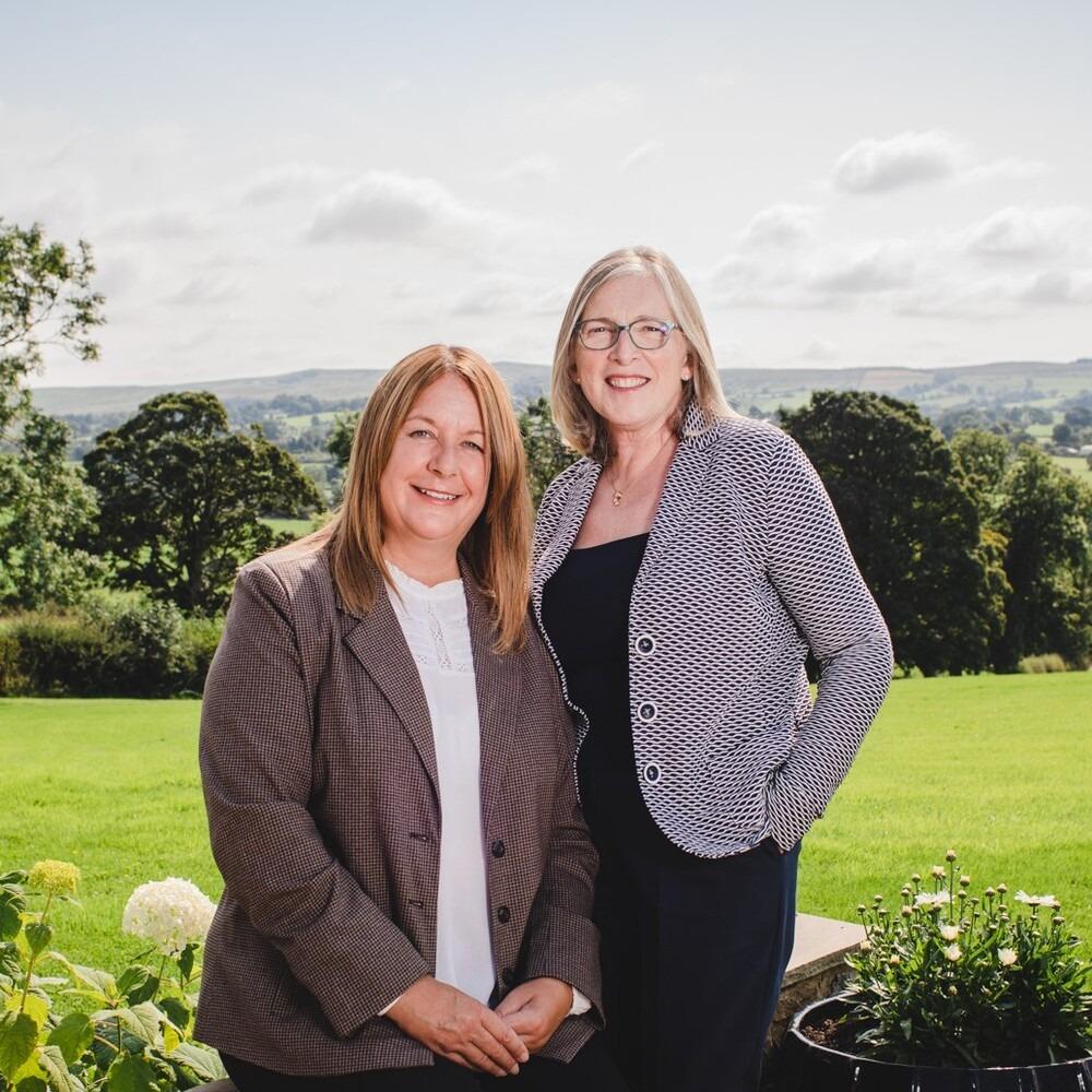 Linda Walmsley and Taryn Wilkinson